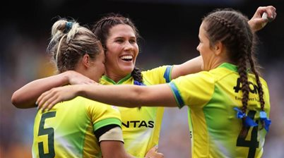 Caslick named in the Seven Great Tries of the Sydney Sevens