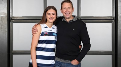 Millie makes father-daughter history