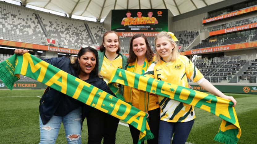 Sydney to host two blockbuster Matildas matches in October