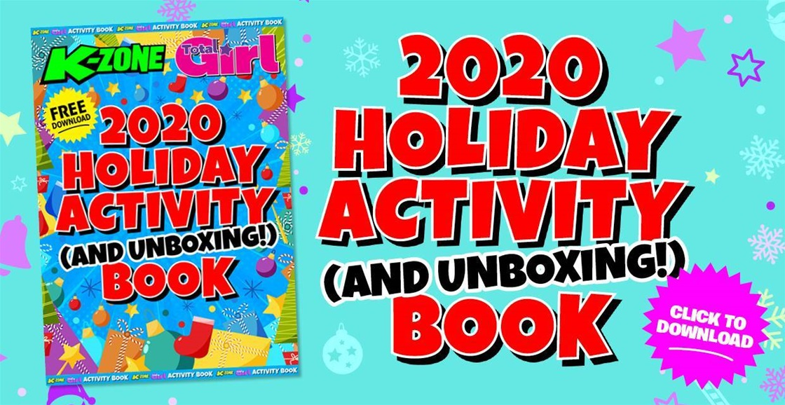 Download your FREE Holiday Activity (And Unboxing) Book