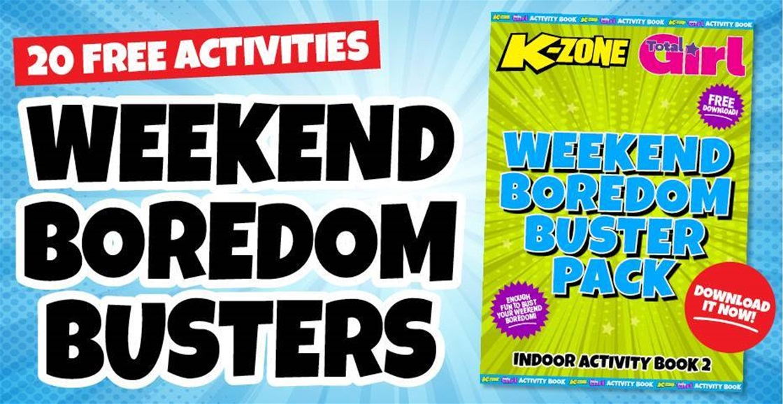 Free Weekend Boredom Buster Pack: Get 20 Activities!