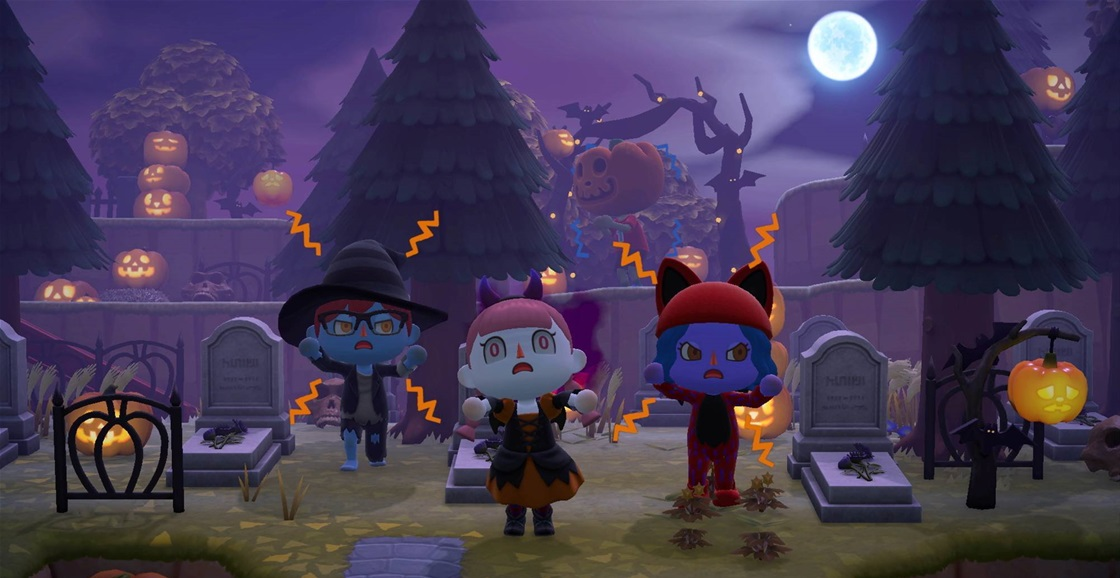 Playing Now: Animal Crossing: New Horizons Halloween Event