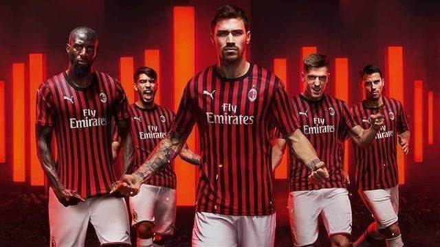 AC Milan unveil their throwback-style home kit for the 2019/20 season