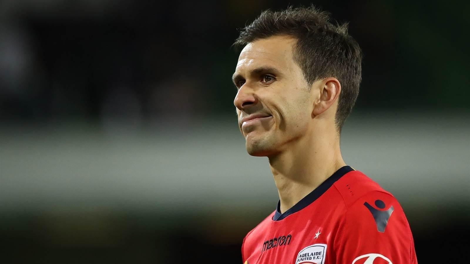 Adelaide United captain departs A-League