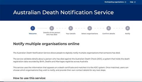 Big four banks join NSW govt's death notification service pilot