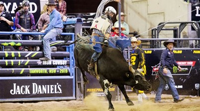 Iron Cowboy crowned!