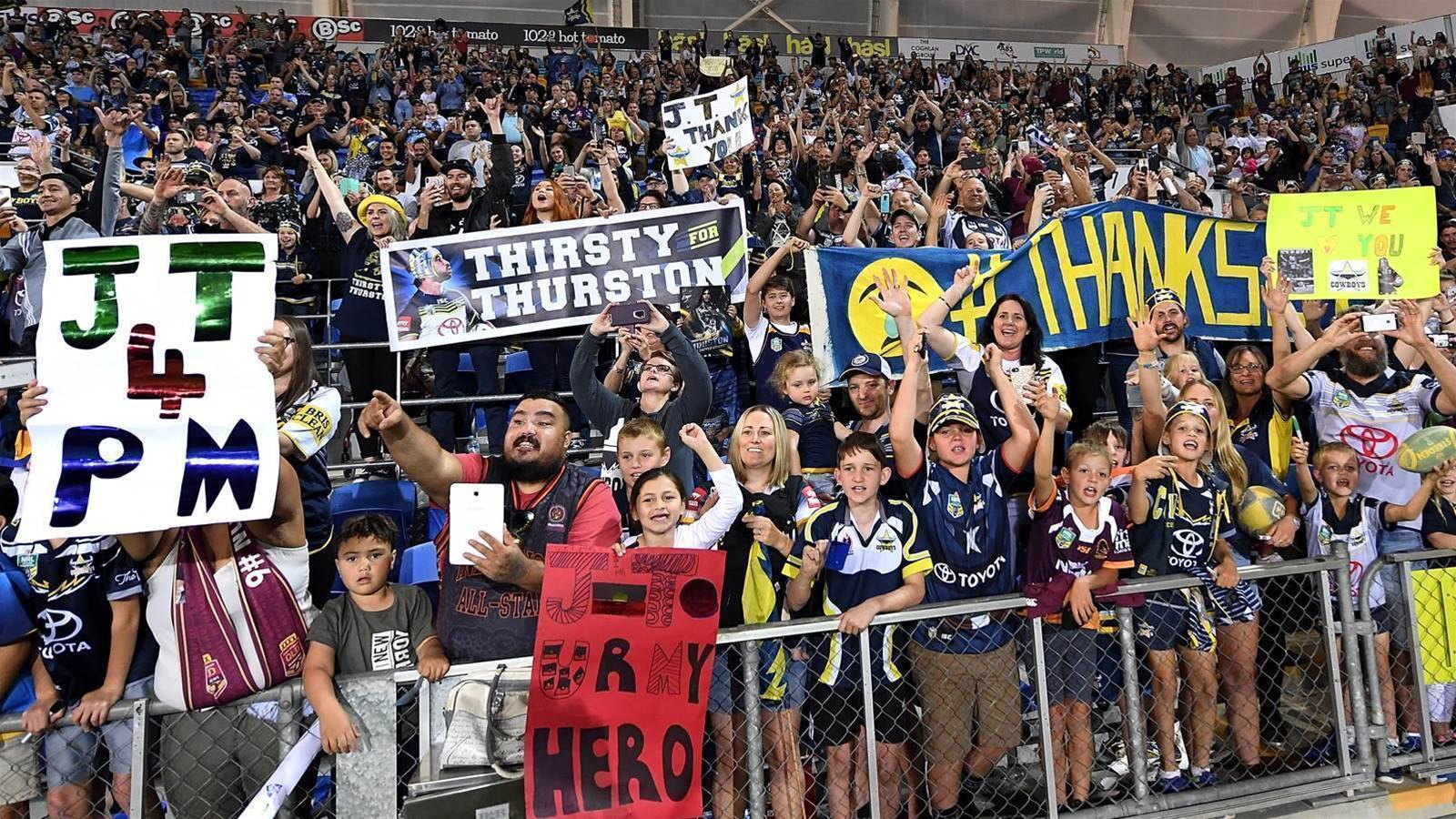 NRL crowds surge to 10-year high
