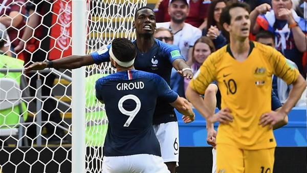 How the Socceroos helped France win the World Cup