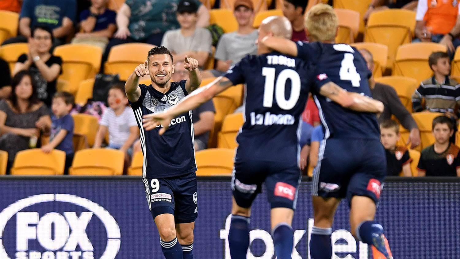 Six straight wins but Troisi's not happy