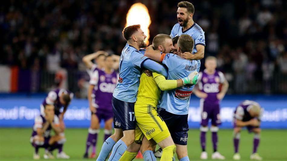 Perth pay penalty as Sydney claim A-League title