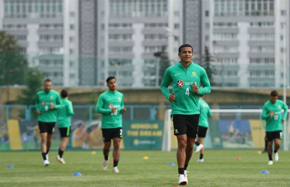 Recovery mission: Four Socceroos miss training