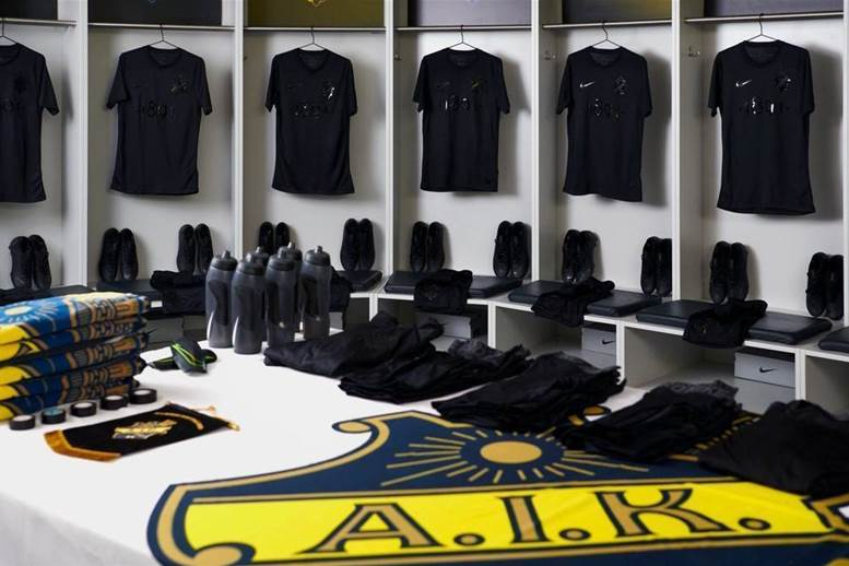 Swedish 'sick-kit-specialists' AIK unveil latest Nike masterpiece