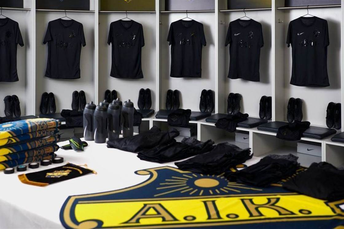 Swedish 'sick-kit-specialists' AIK unveil latest Nike masterpiece