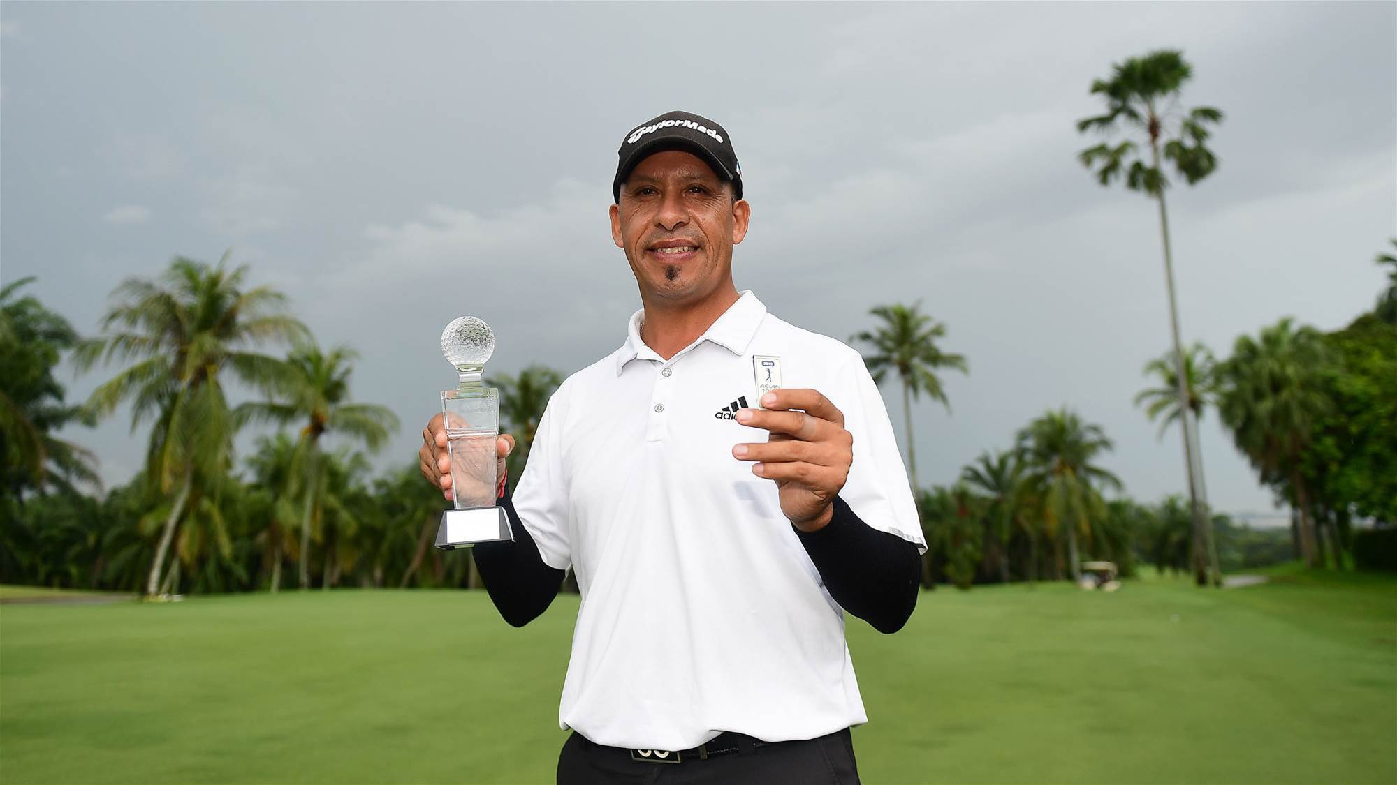 Carballo lifts ADT Order of Merit Crown