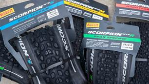 FIRST LOOK: Pirelli Scorpion Trail and Enduro tyres