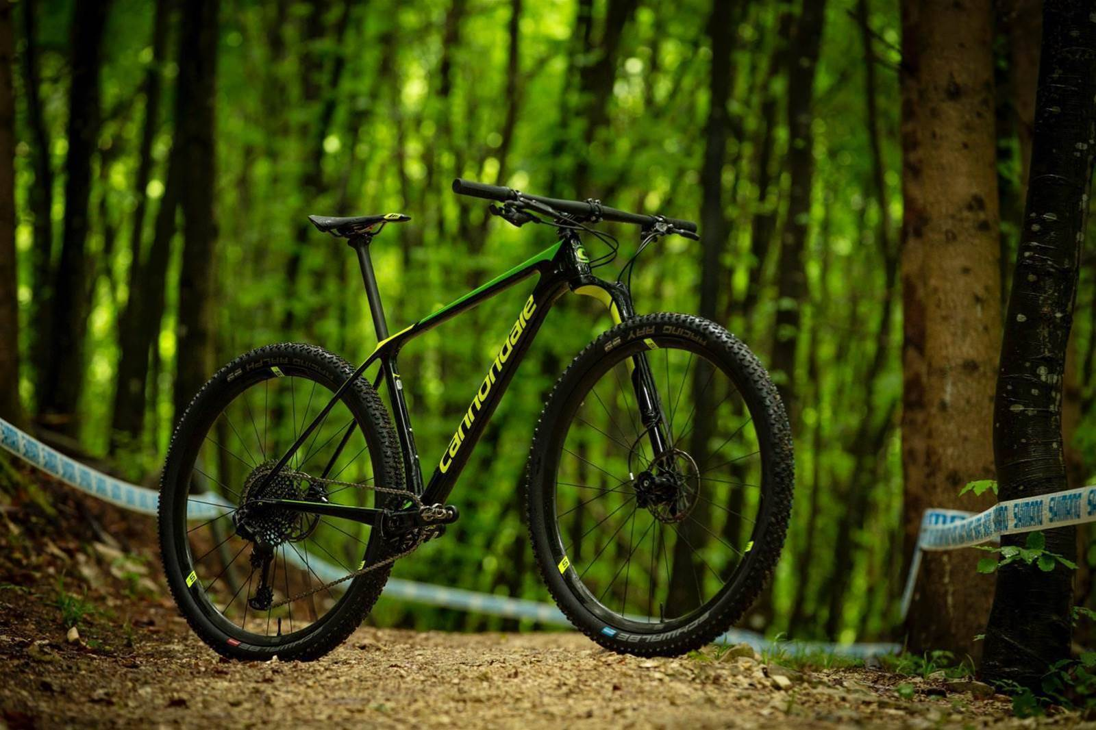 Cannondale's new Lefty Ocho and F-Si hardtail