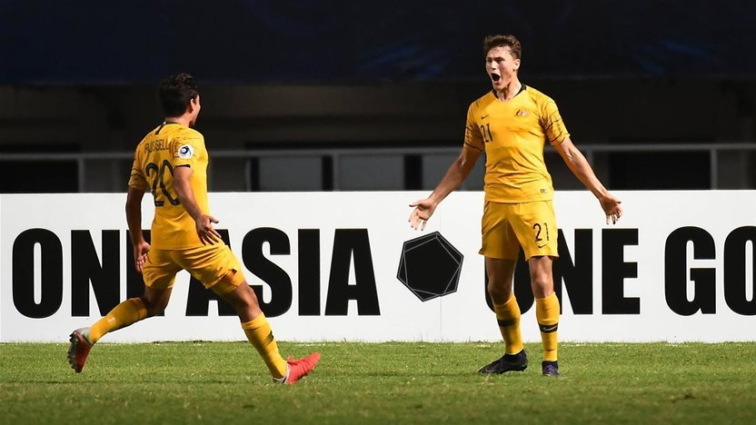 Young Socceroos survive Jordan onslaught