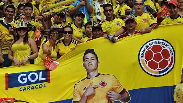 """""""Socceroos to face Colombia"""""""