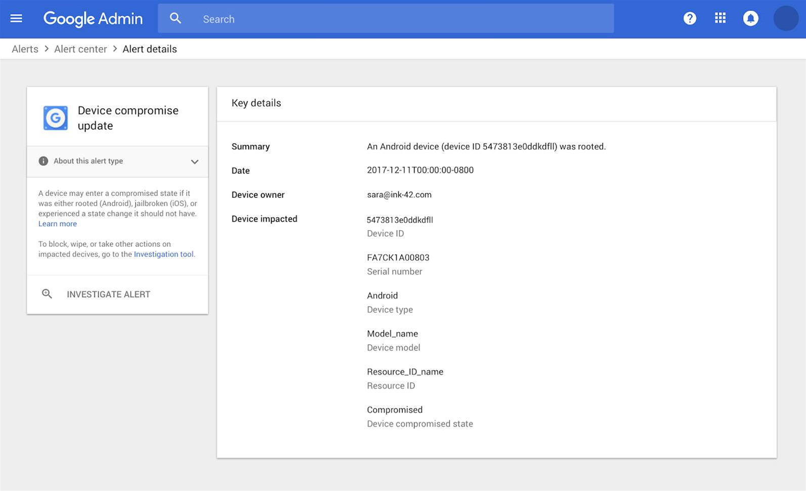 Google's G Suite adds threat alerts
