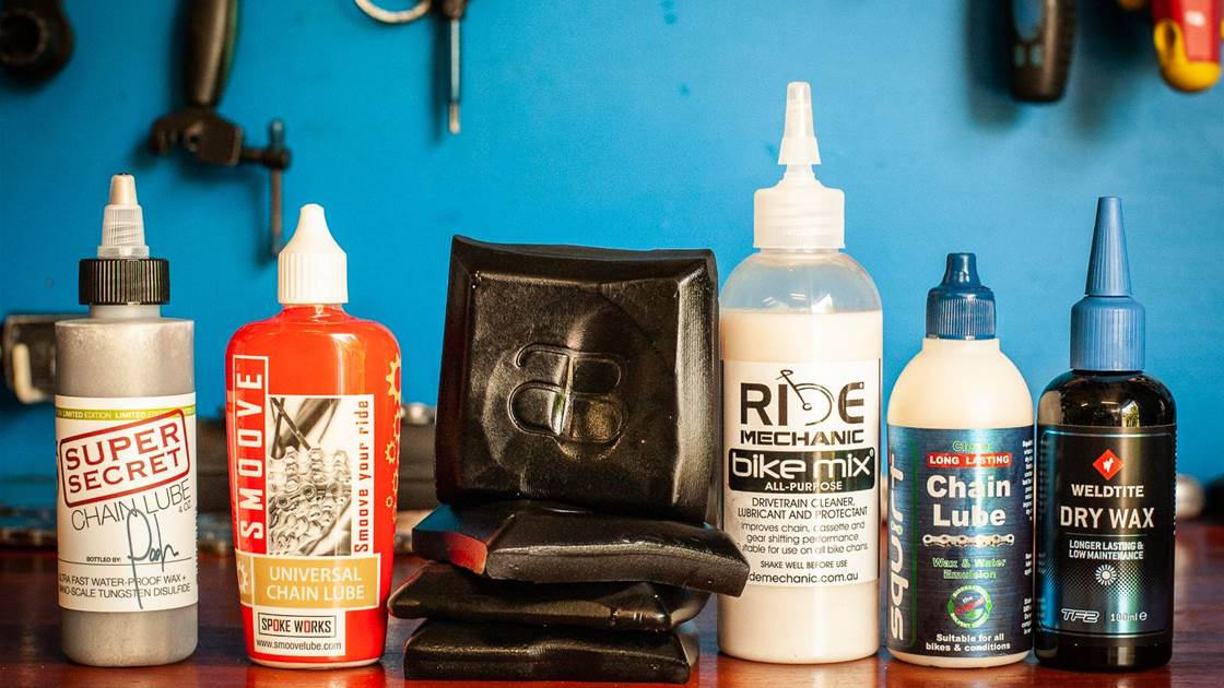 Setting up the 'great chain lube test'