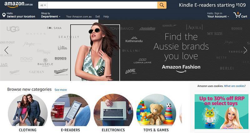 The Amazon opportunity for Aussie online retailers