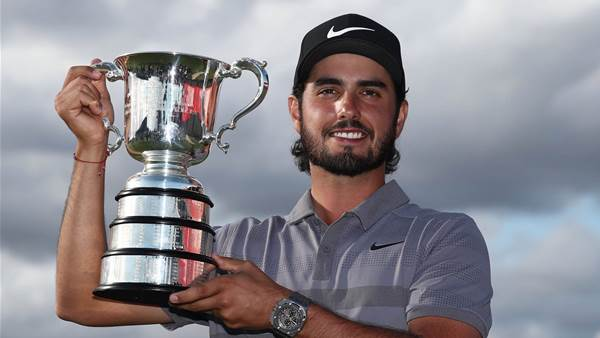 Abraham Ancer claims Australian Open title