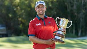 Drought-breaking trophy for Andrew Evans at Qld Open