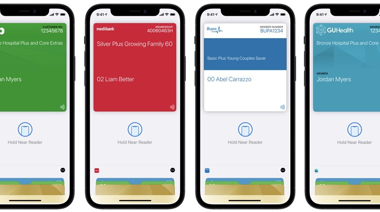 Australian health insurance cards can now be added to Apple Wallet