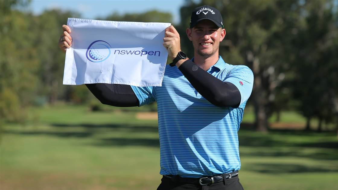 Armstrong wins inaugural Murray Open