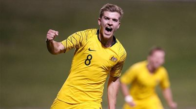 Future Socceroos star signs for English club on MLS loan