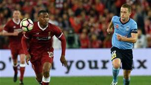'Closest I got to him was walking out': Socceroo turned Perth A-League teammate says Sturridge is 'unplayable'