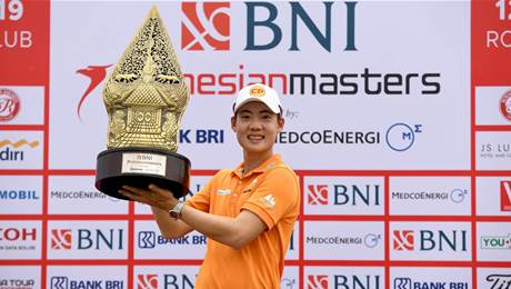 Jazz seals Augusta berth with Indonesian Masters victory