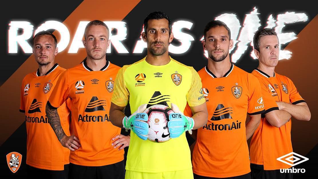 Brisbane Roar unveils new kits