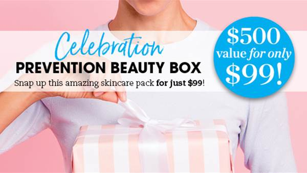Limited Edition Prevention Beauty Box