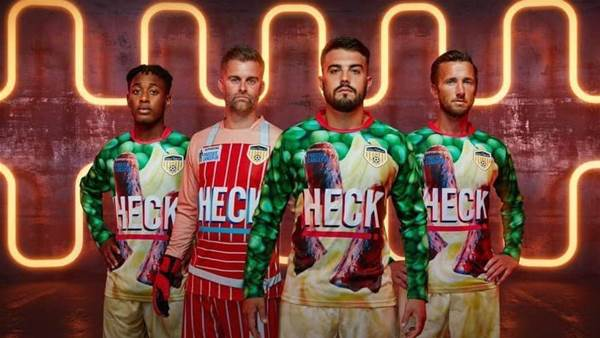 Serial ugly-kit offenders Bedale AFC go for 'bangers and mash' look in 2019/20