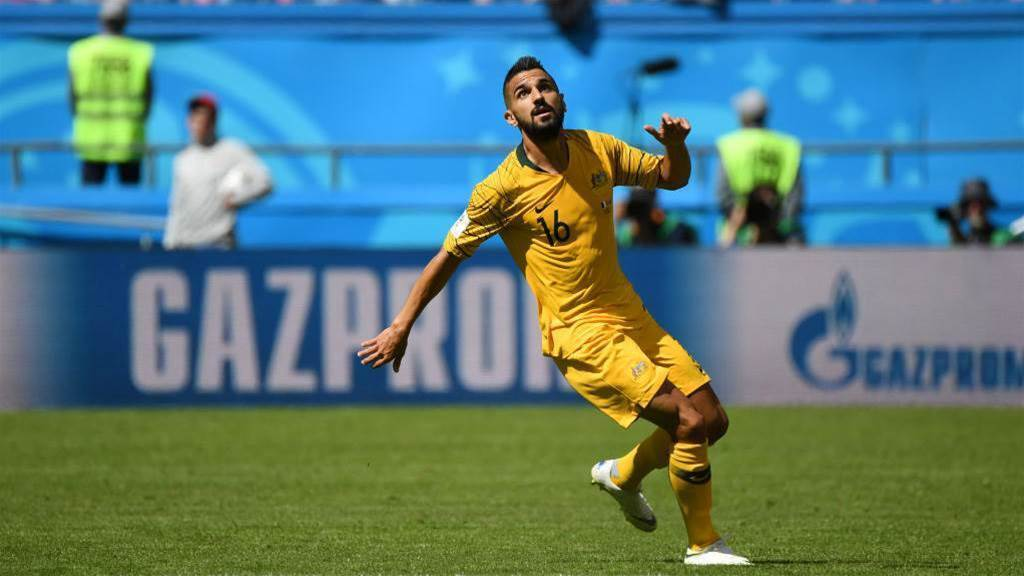 The fans were unreal says Behich