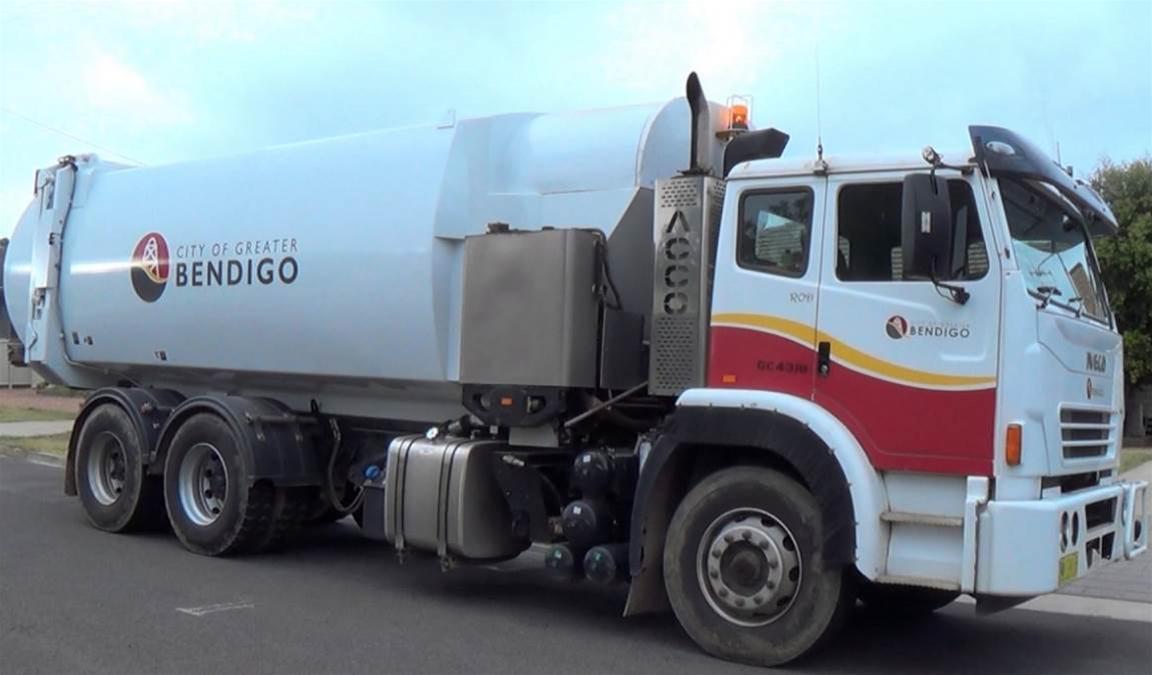 Garbage trucks test reach of Bendigo's new IoT network