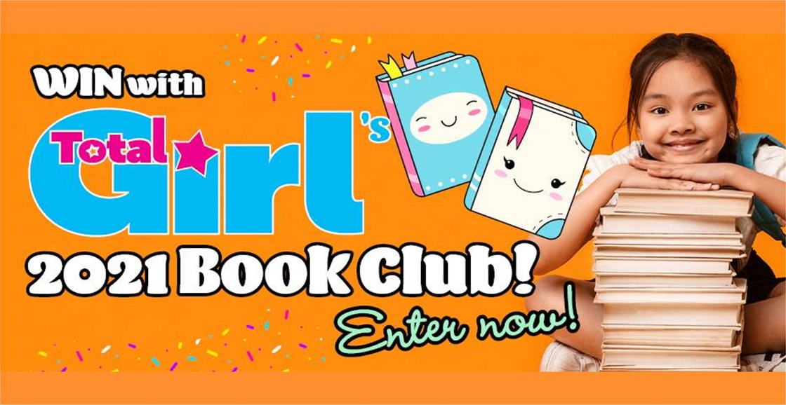 It's baaaack! Join Total Girl's 2021 Book Club + WIN