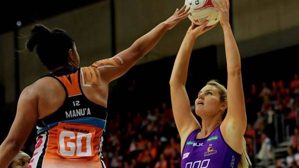 Firebirds star breaks nose in spiteful loss to Giants