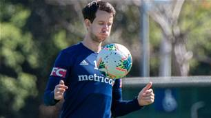 Robbie Kruse in doubt for Melbourne derby