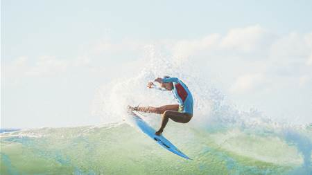 Could You Surf Every Day for a Month for a Good Cause?