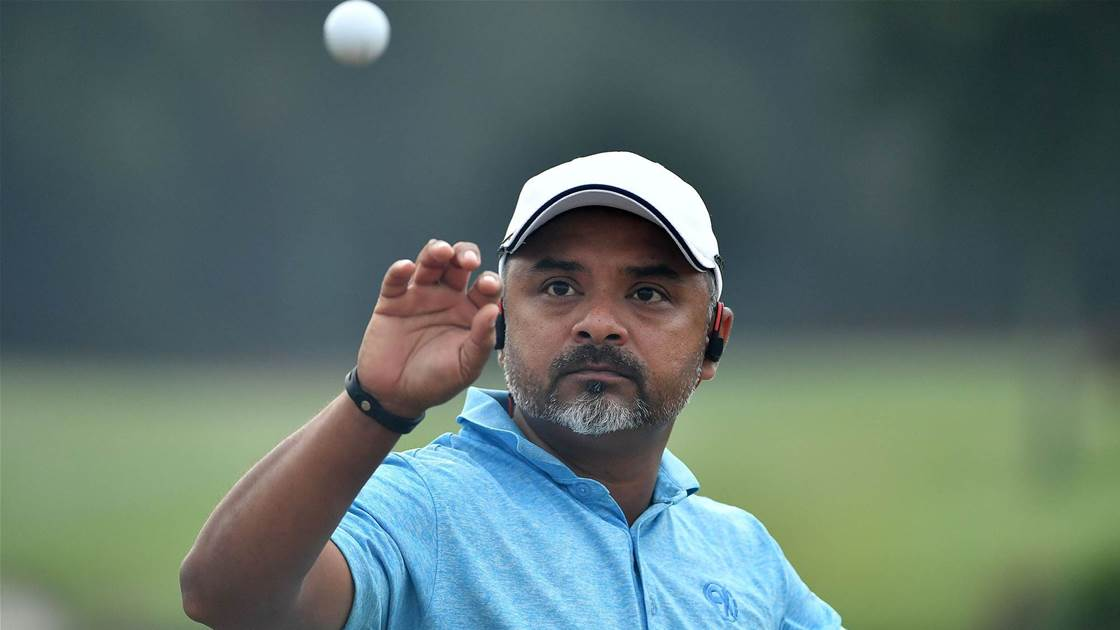 Upbeat Gangjee readies himself for the Asia-Pacific Diamond Cup
