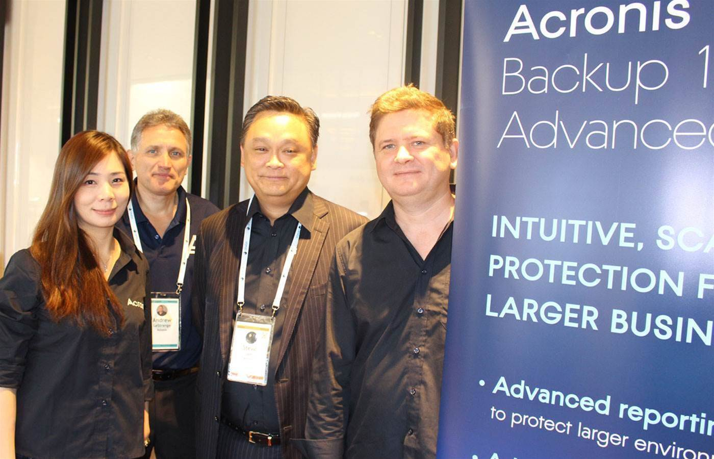 Acronis hires Julie Malcolm and Edith Kan to run channel team