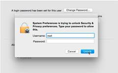 Mac flaw allows full admin rights without a password