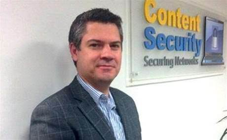 Content Security chief executive resigns