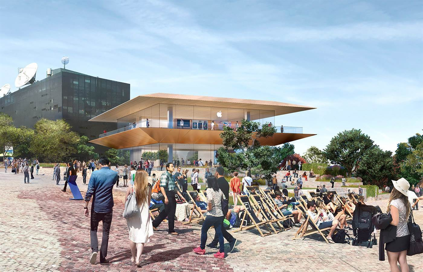 Apple reveals plans for new Federation Square, Melbourne store