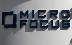 Micro Focus sinks as costs of fixing HPE mount
