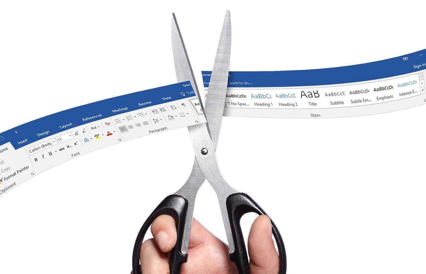 A ribbon-cutting for Microsoft's new Office online feature