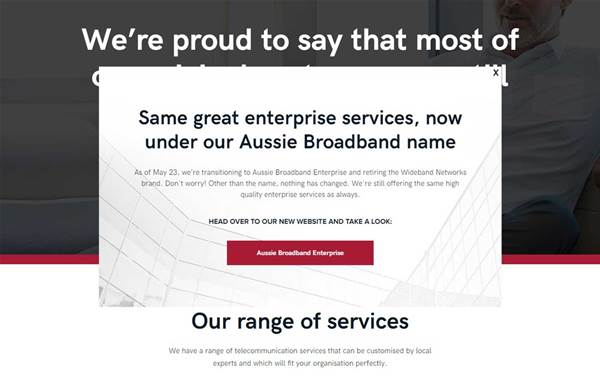 Aussie Broadband shutters subsidiary, moves services back into enterprise brand