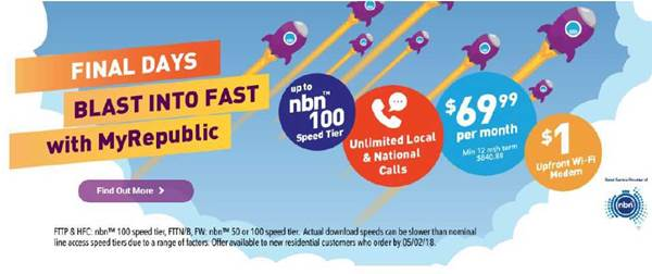 MyRepublic pays $25,200 in penalties over NBN speed claims, joining Telstra, Optus, TPG and others